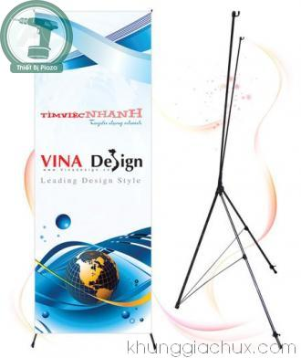 Picture Giá chữ x standee treo poster X801T (80*180cm)