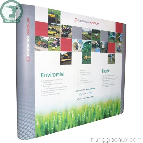 Picture Khung backdrop (popup) 3x3 ô thẳng (kt 230x230 cm)